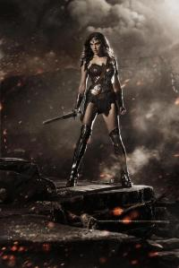Gal Gadot as Wonder Woman in
