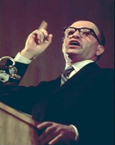 Israeli Prime Minister Menachem Begin, one of Chris' inspirations for the character of Magneto