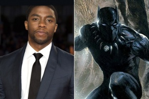 Chadwick Boseman will play the Black Panther in the coming Marvel Studios film