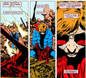 Panels from Daredevil #227 (1986) Part 1 of