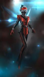 Costume designs for the Wasp from Marvel Studios'