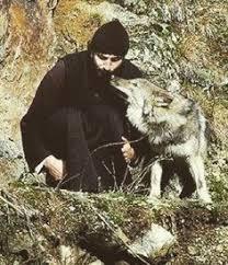 Orthodox Monk with Animal 3
