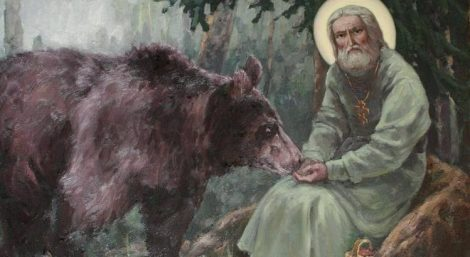 Saint-Seraphim-of-Sarov-and-his-bear-cropped-749x410